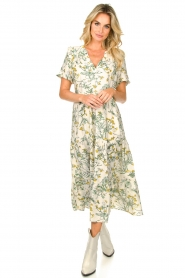 Lolly's Laundry |  Printed maxi dress Freddy | natural  | Picture 2