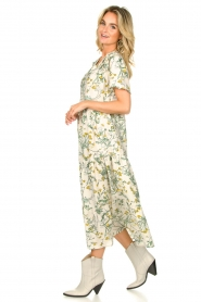 Lolly's Laundry |  Printed maxi dress Freddy | natural  | Picture 5