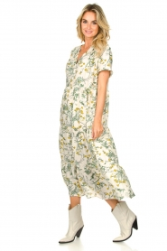 Lolly's Laundry |  Printed maxi dress Freddy | natural  | Picture 4