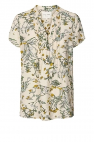 Lolly's Laundry |  Print blouse Heather | natural  | Picture 1