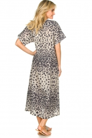 Moment by Moment |  Leopard printed kaftan Nice | grey  | Picture 5