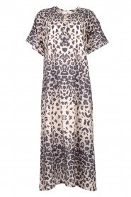 Moment by Moment |  Leopard printed kaftan Nice | grey  | Picture 1