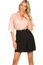 Second Female |  Blouse Aida | pink  | Picture 2