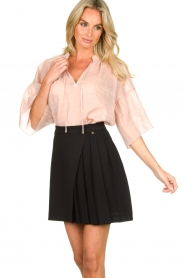 Second Female |  Blouse Aida | pink  | Picture 4