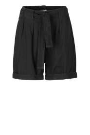 Second Female |  High-waist shorts Nusi | black  | Picture 1