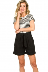 Second Female |  High-waist shorts Nusi | black  | Picture 2