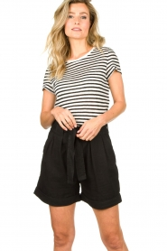 Second Female |  High-waist shorts Nusi | black  | Picture 4