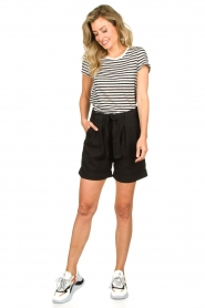 Second Female |  High-waist shorts Nusi | black  | Picture 3