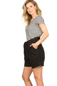 Second Female |  High-waist shorts Nusi | black  | Picture 5