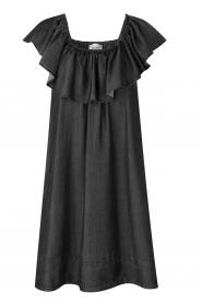 Second Female |  Lyocell dress Lilla | black  | Picture 1