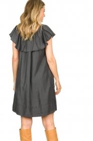 Second Female |  Lyocell dress Lilla | black  | Picture 6