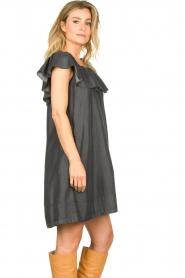 Second Female |  Lyocell dress Lilla | black  | Picture 5