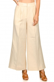 Second Female |  Wide leg trousers Lia | natural  | Picture 4