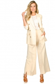 Second Female |  Wide leg trousers Lia | natural  | Picture 3