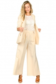 Second Female |  Wide leg trousers Lia | natural  | Picture 2