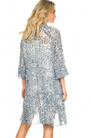 Second Female |  Dress with print Clouds | blue  | Picture 6