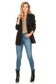 Second Female |  Print blouse Eli | brown  | Picture 3