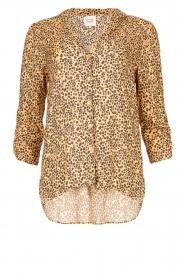 Second Female |  Print blouse Eli | brown  | Picture 1