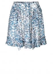 Second Female |  Printed ruffle skirt Clouds | blue  | Picture 1