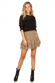 Second Female |  Print skirt Eli | brown  | Picture 3