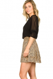 Second Female |  Print skirt Eli | brown  | Picture 6