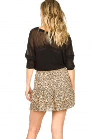 Second Female |  Print skirt Eli | brown  | Picture 7