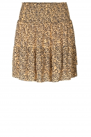 Second Female |  Print skirt Eli | brown  | Picture 1