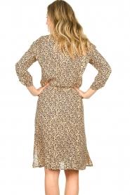 Second Female |  Midi print dress Eli | brown  | Picture 6