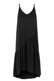 Second Female | Mouwloze midi-jurk Rayes | zwart  | Afbeelding 1