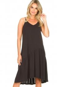 Second Female |  Sleeveless midi dress Rayes | black  | Picture 4