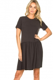 Second Female |  Modal dress Rayes | black  | Picture 2