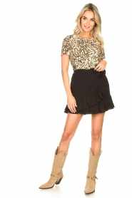 Second Female | Short skirt wit ruffles Kimmy|black  | Picture 3