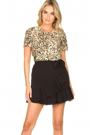 Second Female | Short skirt wit ruffles Kimmy|black  | Picture 2