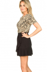 Second Female | Short skirt wit ruffles Kimmy|black  | Picture 5