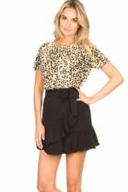 Second Female | Short skirt wit ruffles Kimmy|black  | Picture 4