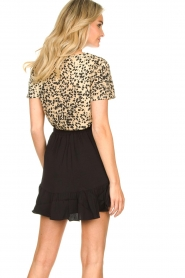 Second Female | Short skirt wit ruffles Kimmy|black  | Picture 6