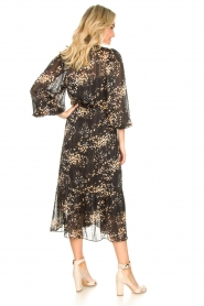 Second Female |  Dress with print Snora | black  | Picture 6