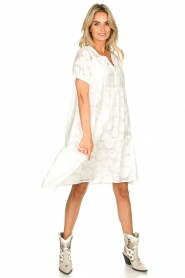 Second Female |  A-line dress Mila | white  | Picture 3