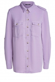 Set | Button down blouse Jill | purple  | Picture 1