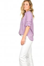 Set | Button down blouse Jill | purple  | Picture 6