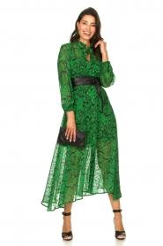Silvian Heach |  Printed maxi dress Sanquin | green  | Picture 3