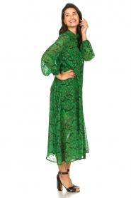 Silvian Heach |  Printed maxi dress Sanquin | green  | Picture 4