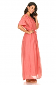 Fracomina |  Maxi dress Electra | pink  | Picture 4