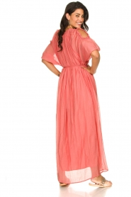 Fracomina |  Maxi dress Electra | pink  | Picture 5