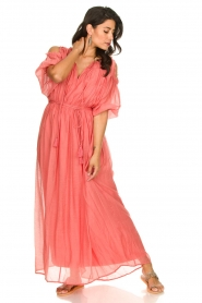 Fracomina |  Maxi dress Electra | pink  | Picture 3