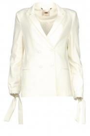 Fracomina |  Double-breasted blazer Jana | white  | Picture 1