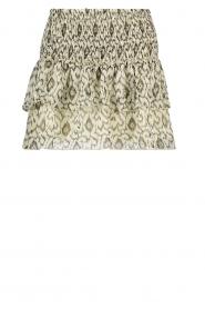 Aaiko |  Print skirt Panaji | natural  | Picture 1