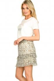Aaiko |  Print skirt Panaji | natural  | Picture 4