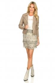 Aaiko |  Print skirt Panaji | natural  | Picture 3