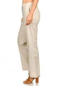 Aaiko |  Straight trousers Lanella | natural  | Picture 5